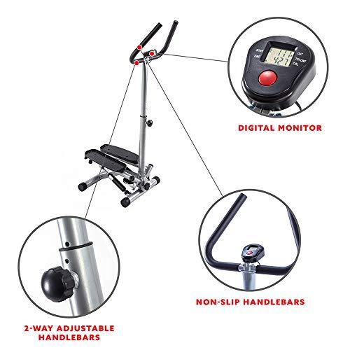Sunny Health And Fitness Twist Stepper Step Machine