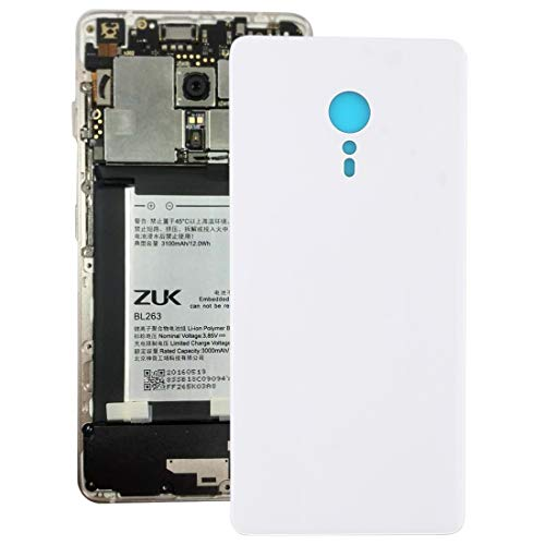 GBHGBH Contraportada for Lenovo ZUK Z2 Pro (Negro) (Color : Blanco)