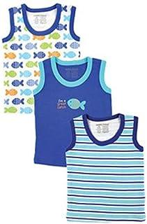 Luvable Friends Blue Top & Shirt For Boys