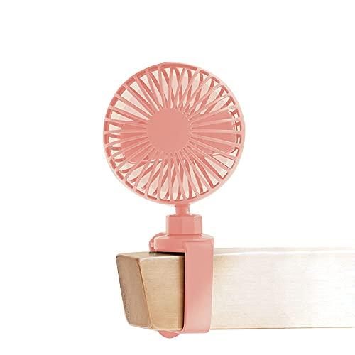 USB Recargable Ventilador Dormitorio Estudiante Litera de Noche Verano Escritorio Handheld Verano Al Aire Libre Portátil Pequeño Oficina Silencioso Ventilador eléctrico