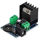 gostcai Módulo Amplificador de Potencia de Audio TDA7297 Integrado, módulos amplificadores de Audio de Doble Canal 15 W + 15 W, potenciómetro de dial Integrado, para Altavoces de 4-8 ohmios 10-50 W
