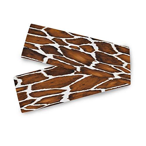 CaTaKu - Camino de mesa con estampado de tigre de animal para mesa de cena, libro de mesa, 70 x 33 cm, impresión de doble cara para fiesta o cualquier festival