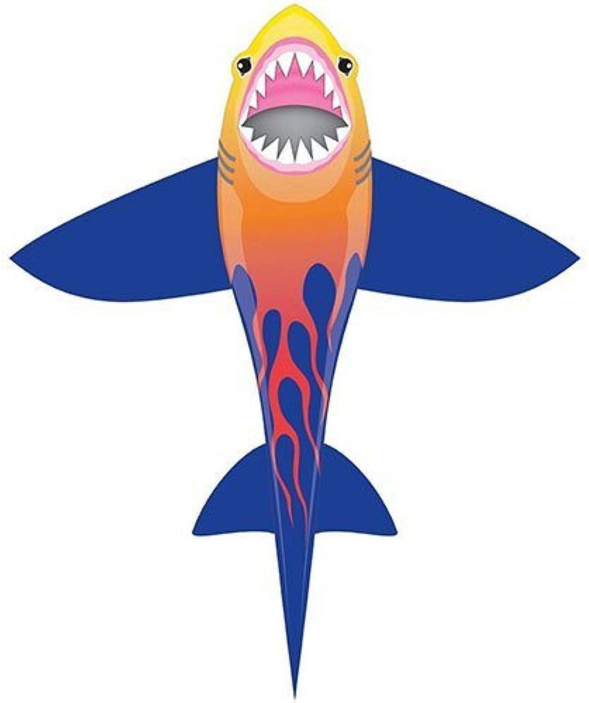 CloudPleasers DLX Nylon Kite  Shark 54 Tall by XKites