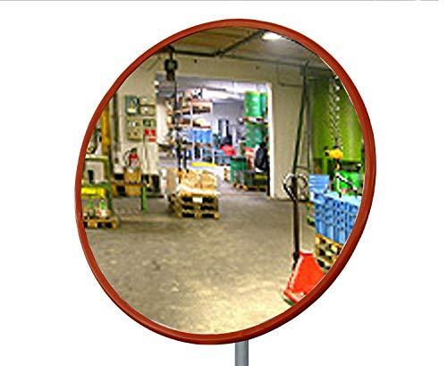 dancop© - Industriële Spiegel - Standaard - Acryl - Rond - 80cm