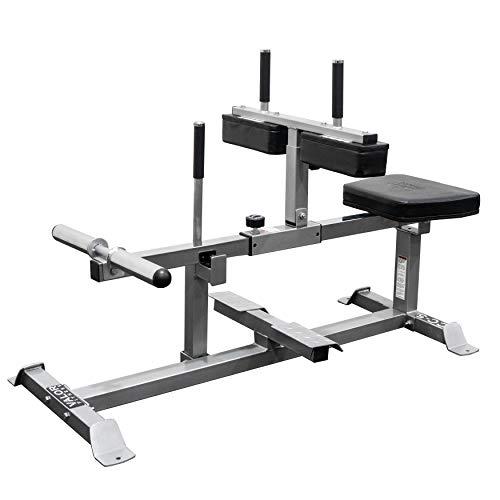 Valor Fitness CC-5 Seated Calf Machine Home Gym Equipment Leg Exercise Strength Training Workout Raises Strengthen Calves and Legs
