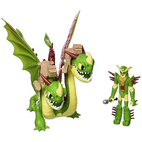 Dreamworks Dragons Spinmaster – 6052275 – Drachenzähmen leicht gemacht 3: Die geheime Welt – Tuffnut mit Barf & Belch