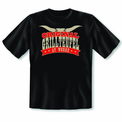 Für Meistergriller: Fun Shirt Original Grillteufel at Work T-Shirt Gr: XL Farbe: schwarz