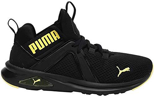 PUMA Enzo 2 Weave Youth Sneaker Puma Black-Meadowlark UK 3.5_Youth_FR 36