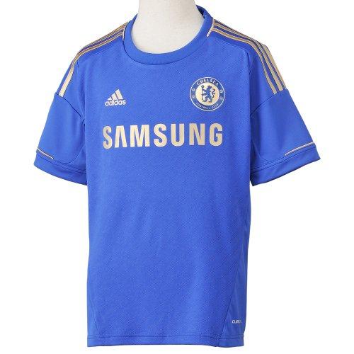 adidas Jungen Trikot Chelsea FC Home, cfc reflex blue/light football gold, 164, W38453