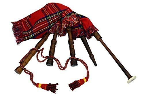 Kids Toy Bagpipe/Junior Playable Bagpipes/Child Bagpipe Full Royal Stewart...