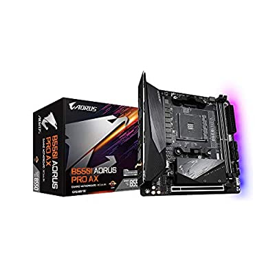 GIGABYTE B550I AORUS PRO AX Motherboard for AMD AM4 CPUs