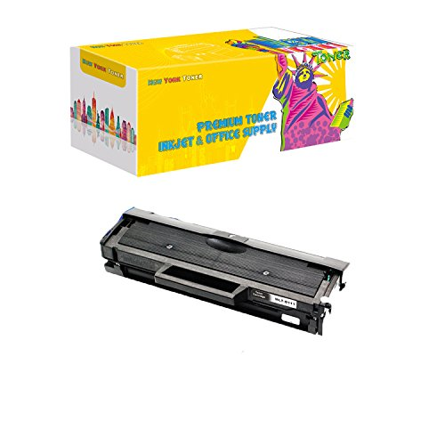 Price comparison product image New York Toner Compatible Ink Cartridge Replacement for Samsung MLT-D111S ( Black ,  1 pk )