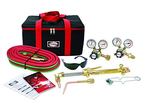 Harris Ironworker 510 DLX Oxygen Acetylene Torch Kit 4400366
