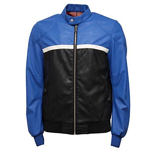 Freedom Day 7308J Giubbotto Uomo FREEDOMDAY Eco-Leather Biker Jacket Man [M]
