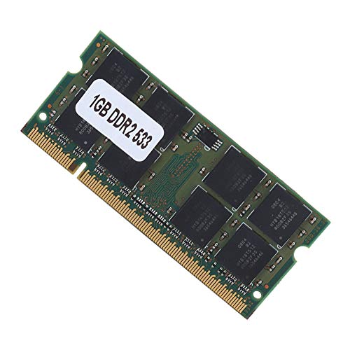 Arbeitspeicher 1GB DDR2 533MHZ,Notebook 1GB RAM DDR2 PC2-4200 Laptop Speicher,200 Pin Laptop-Speicher Memory für Intel/AMD Motherboard