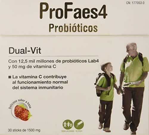 ProFaes4 Probióticos, Dual-Vit, 30 Palos