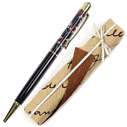 【ギフトラッピング済み】 ハーバリウムボールペン スワロフスキー ボールペン 名入れ 誕生石 イメージ ハーバリウム ペン かわいい ギフト 誕生日 花 プリザーブドフラワー 卒業 記念 プレゼント 女性 Aliceflower 13番目の魔女 母の日