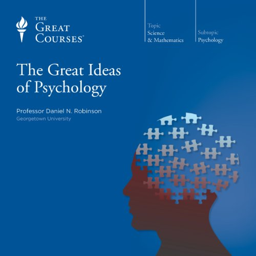 The Great Ideas of Psychology                   By:                                                                                                                                 Daniel N. Robinson,                                                                                        The Great Courses                               Narrated by:                                                                                                                                 Daniel N. Robinson                      Length: 23 hrs and 27 mins     42 ratings     Overall 4.7
