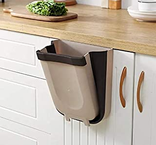 Amazon Prime AICONEZ Kitchen Trash Can, Cabinet Door Hanging Bin Trash Can,Hanging Trash Can Collapsible Small Garbage Was...