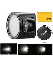 Godox H200R Gold 200Ws Flash Super Power y Natural Luz Efectos para Godox AD200 Pocket Flash Light y efectos de luz Portátiles ,suaves para tomar Características(H200R)