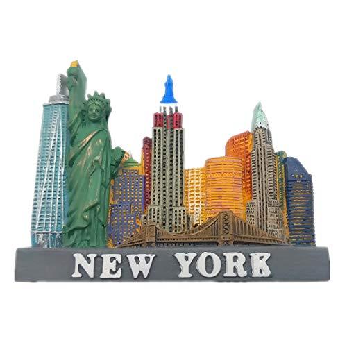 /États-Unis Chicago, Illinois zamonji 3D R/ésine R/éfrig/érateur Aimants De Cuisine Home Decor Tourist Souvenir de Voyage