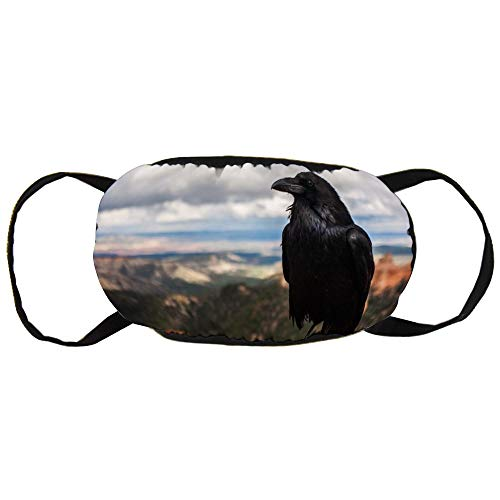 Unisex Mond Masker Anti-Stof Gezicht Mond Masker, Kraai Veiligheid Herbruikbare Katoen Gezicht Masker voor Outdoor Sporten, Tuinieren, Reizen