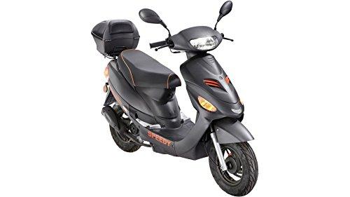 FLEX TECH Motorroller Speedy RC, 50 ccm, 45 km/h, mit Topcase