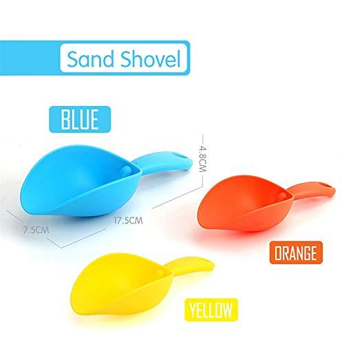 Sulifor Spielen Sie Sand Wasser Spielzeug Werkzeug Sand Schaufel Sommer Spielzeug Strand Bad Spielzeug Geschenk für Kinder