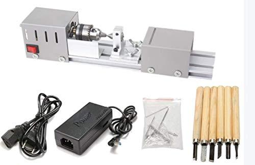 Mini-Drehmeißelmaschine für Holzbearbeitung, DIY, Drehbank, Schleifer und Metall Poliermaschine