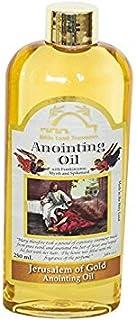 Bible Land Treasures Anointing Oil for Prayer, Blessing Oil of Gladness | Jerusalem of Gold, 250 ml