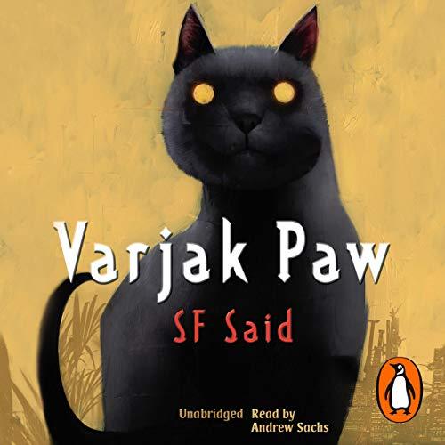 Varjak Paw audiobook cover art