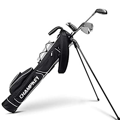 Champkey Lightweight Golf Stand Bag - Easy to Carry & Durable Pitch Golf Bag – Golf Sunday Bag Ideal for Golf Course & Travel