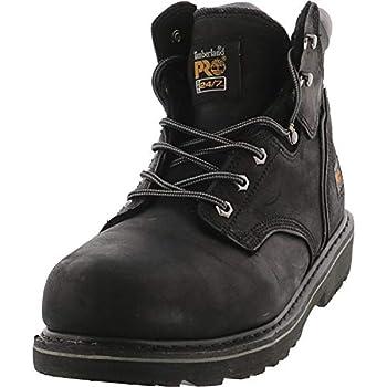 "Timberland PRO Men's Pitboss 6"" Steel-Toe Boot, Black , 8 D - Medium"