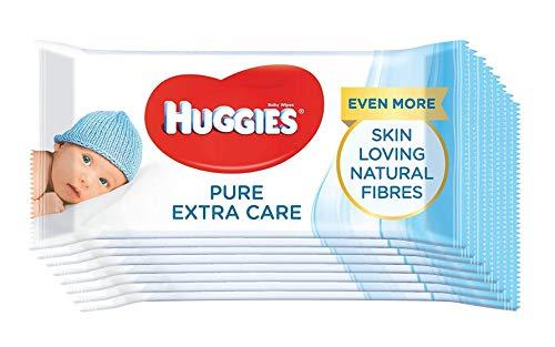 Huggies Pure Extra Care Toallitas para bebé.
