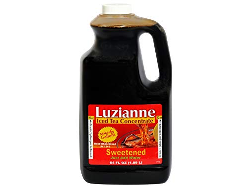 Luzianne Iced Product OFFer Tea Concentrate Sweetened Water Add Just Oun 64