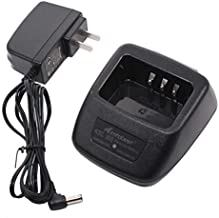 KSC-35S KNB-45L Battery Charger Compatible for Kenwood TK2400 TK3400 TK2402 TK3402 TK-2200 TK-2300 TK-2207 TK-3207 TK 2000 TK 3000 KNB-63L KNB-65L
