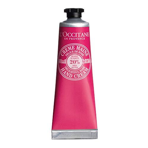 L'Occitane en Provence Delightful Rose Shea Butter Hand Cream, 1er Pack (1 x 30 ml)