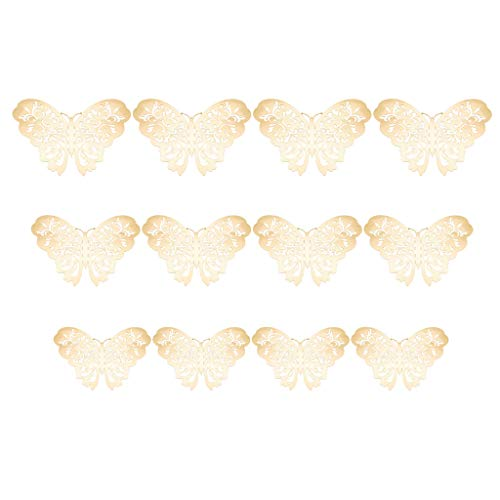 Allence 3D Mariposa Adhesivo decorativo para pared DIY Decoración de Pared Pegatinas Dormitorio Bebé Decoración Desmontable Papel Decorativo