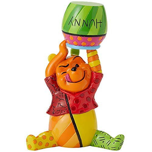 Disney Britto Winnie The Pooh And Honey Mini Figurine