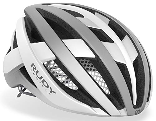 Rudy Project Venger Road Helm White/Silver Matte Kopfumfang L | 59-62cm 2021 Fahrradhelm