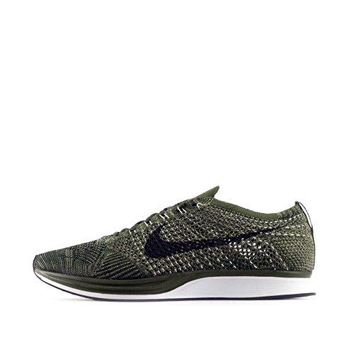 Nike Flyknit Racer Rough Green - Rough Green/Black Trainer Size 7 UK