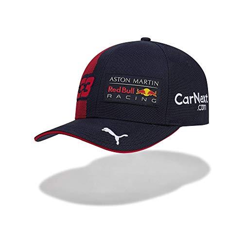 Red Bull Carburante per Tifosi della Gioventù Formula 1 Aston Martin Racing 2020 Team cap, Max Verstappen, Marina, Taglia Unica