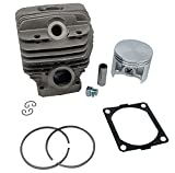 Hyway Cylinder & Piston Kit + Gasket for Stihl 066, MS660, MS640 54mm Rep 1122 020 1211,nikasil Plating Excellent Quality