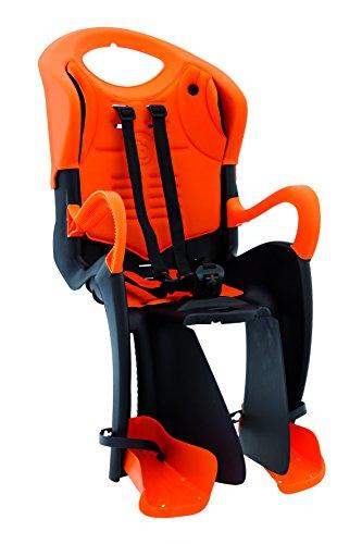 Bellelli 01TGTS00001 Seggiolino Bicicletta Posteriore Tiger Standard, con Attacco al Telaio Multifix, Arancione