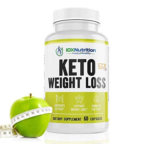 Keto Pills - Supports Keto Burn - Fast Ketosis Diet for Men and Women - Slim Formula with Advanced Keto Pill Capsules - Boost Keto Energy and Metabolism - Pure BHB Keto Pills - 60 Capsules 1