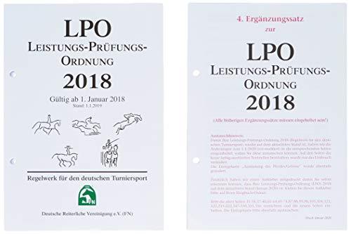 NUR INHALT Leistungs-Prüfungs-Ordnung 2018 (LPO): Regelwerk für den deutschen Turniersport (Regelwerke): Regelwerk für den deutschen Turniersport. Gültig ab 1.01.2018