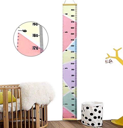Ymwave Gráficos de crecimiento Niños Tabla de crecimiento Growth Chart para el dormitorio de los niños guardería infantil