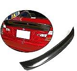 WDYLSNB Alerón de Puerta Trasera para E46 Sedan 1999-2006, Kit de carrocería de Fibra de Carbono para Coche de posventa
