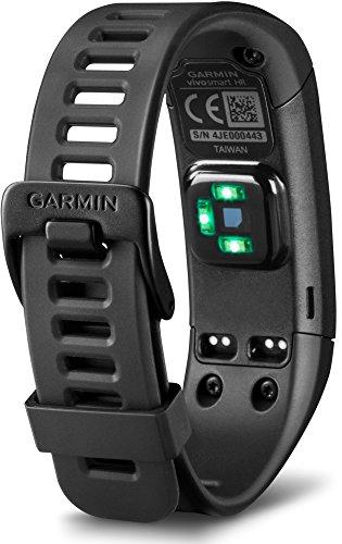 Garmin vívosmart HR Fitness-Tracker – integrierte Herzfrequenzmessung am Handgelenk, Smart Notifications, Schwarz, M – L (13,7-18,8 cm) - 4