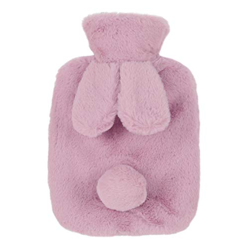Giney mooie mode konijn oor water injectie warm water fles warm in de winter Pk
